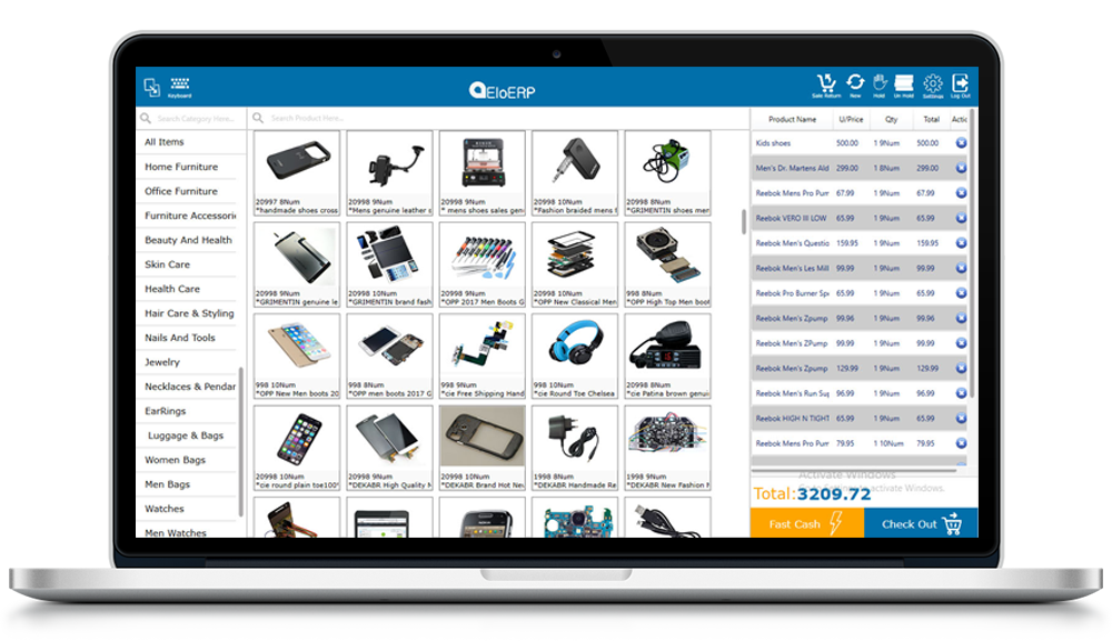 Point of sale solution for mobile store, POS for mobile store, mobile Store Point of Sale System, mobile Store POS Software